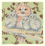 Owl and Owlets
